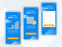 EdgeState Login Screens