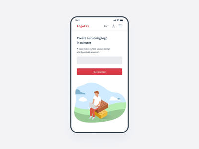 Mobile design for creating logos mobile animation adaptive create after effects adobe xd vector logo figma mentalstack ux ui design