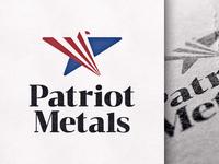 Patriot Metals logo