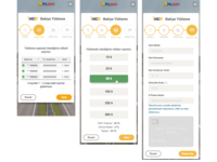 Balance payment page with bootstrap wizard - mobile