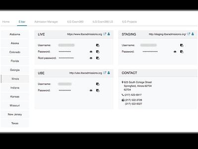 Tab in Another Tab menu horizontal vertical navigation tab
