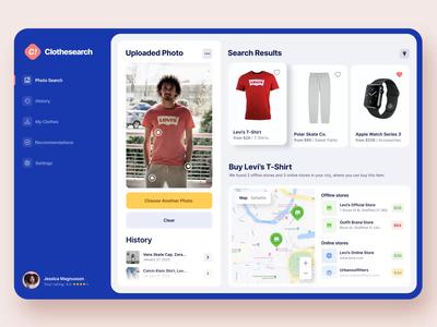Clothes Search Web Service