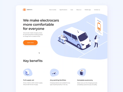 Electrocars Marketing Website fluid design liquid animation slider animation page layout app website parallax scrolling motion ui corporate website front end developer web layout web ui design loop animation app layout web app web ui ui design homepage landing page ui ramotion