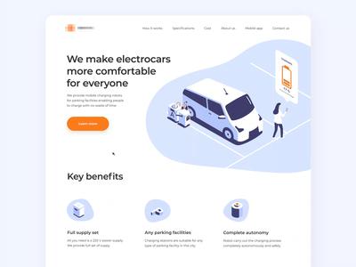 Electrocars Marketing Website