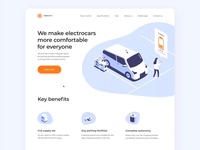 Electrocars Marketing Website
