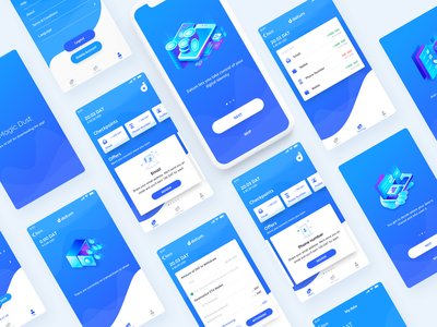 Datum Mobile Application user experience prototype user experience designer user experience design user interface design ios app frames mobile app development mobile app design ux ui illustration ui interface iphone app user interface design user experience ramotion