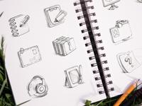 Iconfinder Marketplace Icons Set