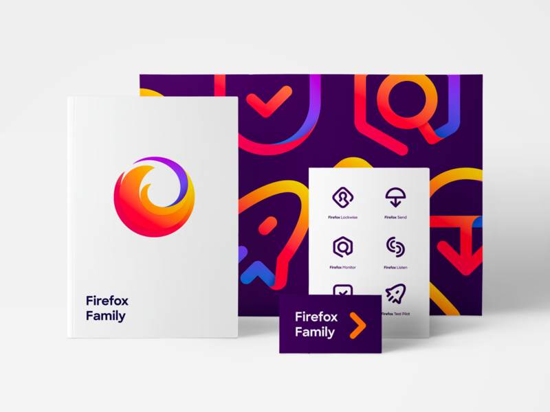 Firefox Branding visual identity visual brand identity icons ux ui ui design logo case study enterprise styleguides design systems branding branding and identity branding agency rebranding rebrand branding design firefox