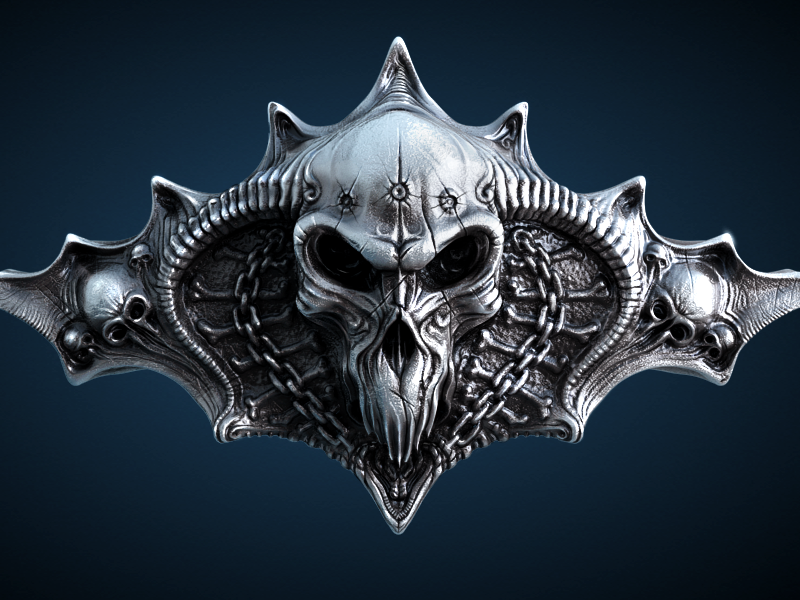 Skull Wallpaper skull 3d model illustration wire modeling rendering sculpting ramotion wallpaper free freebie download iphone