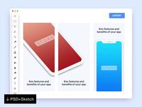 App Store Screenshots [PSD + Sketch]