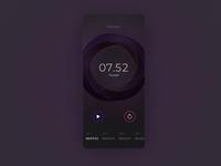 Ramotion Labs: Stopwatch UI mobile app design app development company iphone ux interface ui ramotion design app ux ui user interface user experience