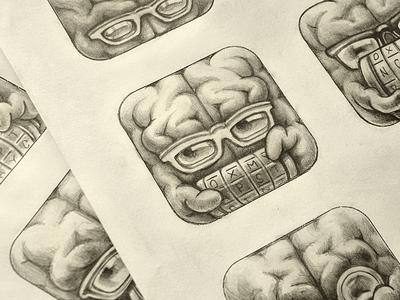 Cryptex App Icon Sketches