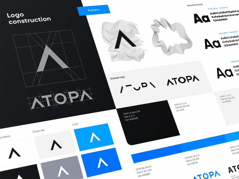 Atopa Visual Brand Identity