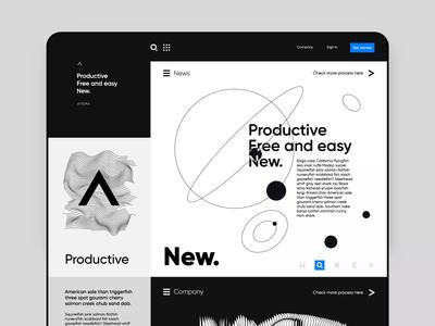 Atopa Marketing Website Concept