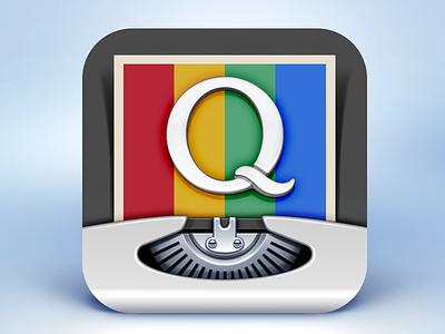 InstaQuote App Icon Design instagram quote instaquote icon app ramotion design text photos ios7 typewriter letter