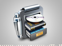 Librarian pro mac app icon ramotion big