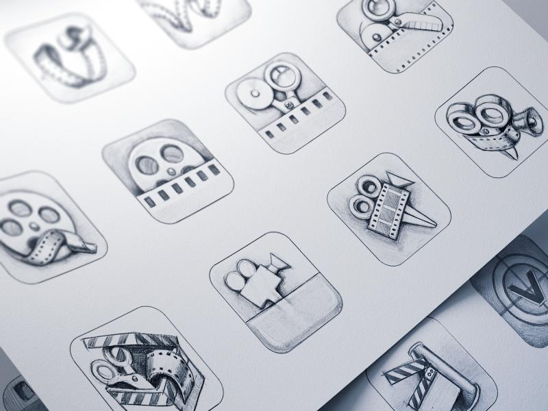 vizzywig ios icon design process by ramotion dribbble dribbble