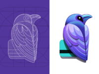 Raven ios7 app icon design ramotion big