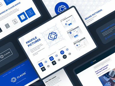 Clause Visual Identity real life pattern branding design branding and identity branding identity design branding identity branding agency style guide visual identity visual design web ui typography vector branding logo icons icon design ramotion