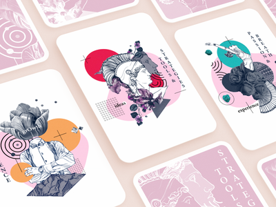 OpenColony Illustrations design typography logo vector art exploration identity visual style branding illustration ui ramotion