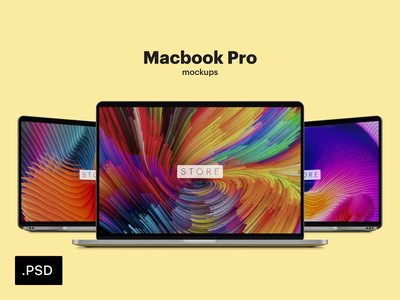 MacBook Pro Mockup laptop mockup macbookpro ui screen psd mockup macbook mockup macbook mac laptop freebie free download device computer