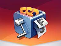 Fontsieve mac app icon design ramotion big