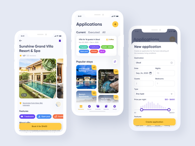 Booking Service User Interface ux bookung app ios app design app design iphone ui app screens application design app clean ui app layout flat ui colors mobile ui design ui mobile app ui ui design mobile app design