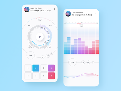Media Player Design dashboard ui design inspiration dashboard design mobile dashboard dashboard layout app concept app dashboard app design ux app screen application design app app layout flat ui colors mobile ui design ui mobile app ui ui design mobile app design