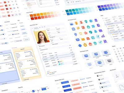 Ninox Design System marketing icon icon design icons ui style guide user interface ui color scheme brand identity brand branding design styleguide visual identity design systems branding