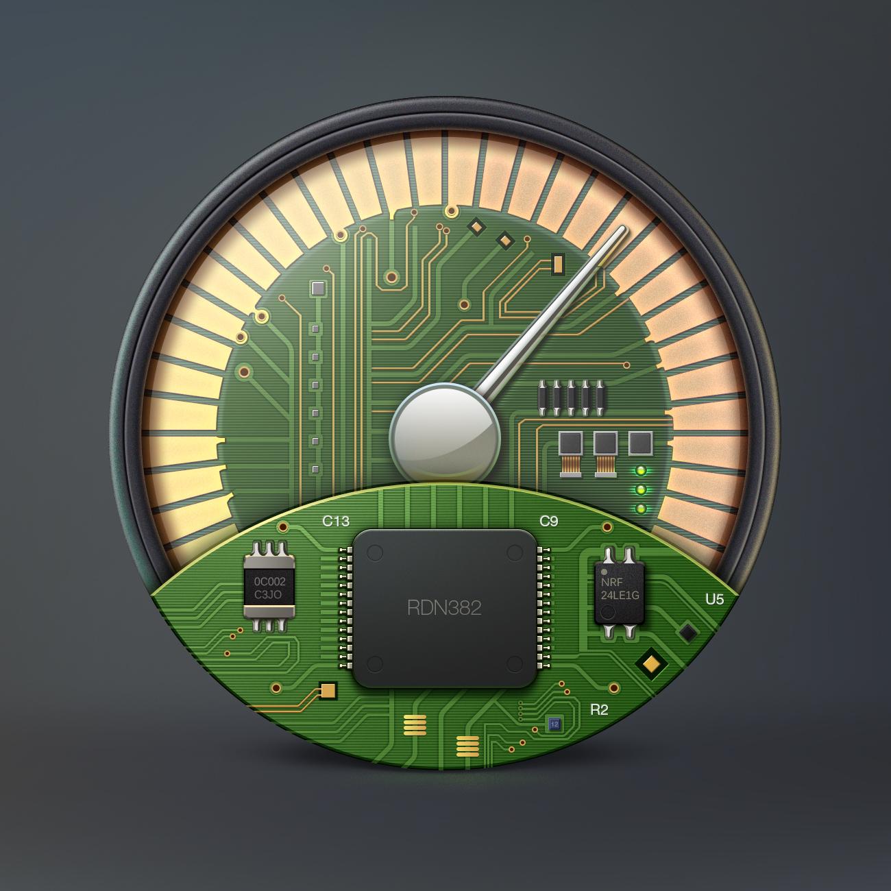 Speedup icon ramotion big