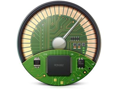 SpeedUp Icon ramotion design mac macos app application macpaw speed memory speedometer android vector