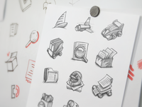 Mac App Icon Sketching