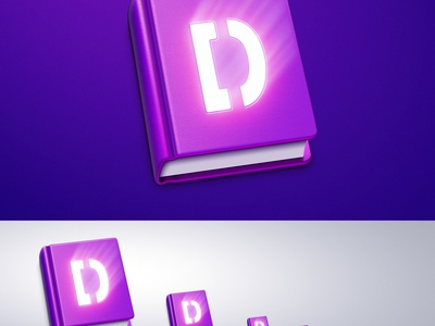 Free Book MacOS App Icon [PSD] icon design icons free psd ramotion macos application freebie book leather photoshop download