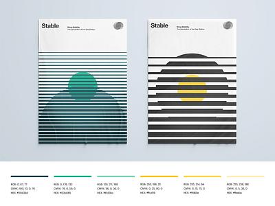 Stable: Visual Identity Applications visual identity poster logotype logo branding assets brand application brand identity branding