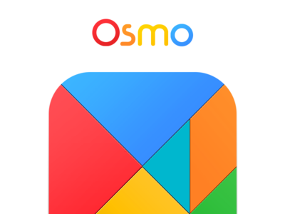 Osmo App Icons ios 8 iphone game children paint puzzle appstore education ramotion branding product logo identity
