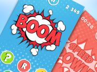 Comics Style Game | UX, UI, iOS
