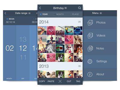 iPhone App UI Design | UX, iOS