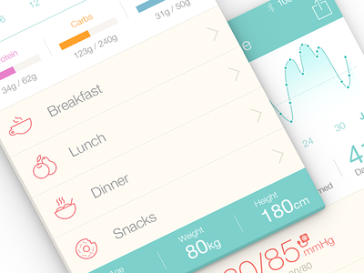 Medical iPhone App | UX, UI, iOS