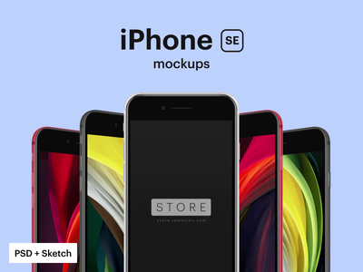 iPhone SE Mockup iphone 8 iphone se iphone template freebie free mockup phone mockup psd mockup iphone mockup