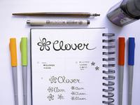 Clover logo design ramotion