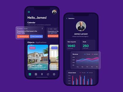 Realtor Mobile App real estate app design mobile app ux realtor mobile app user experience app ui design design ui