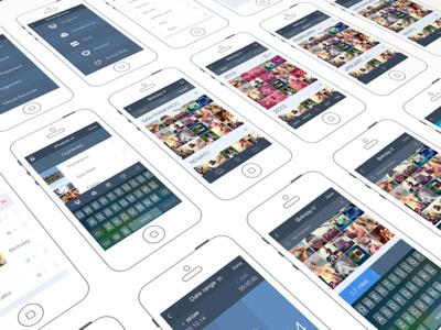 iPhone App Design | UX, UI, iOS