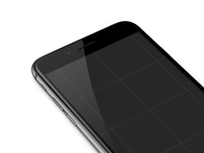 White iPhone Mockup [PSD] vector photoshop sketch ios app iphone mockup psd download templates ux ui mockups mobile application marketing white device template black perspective render best apple phone iphone 6 angle free mock-up