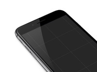 Iphone 6 template gray ramotion