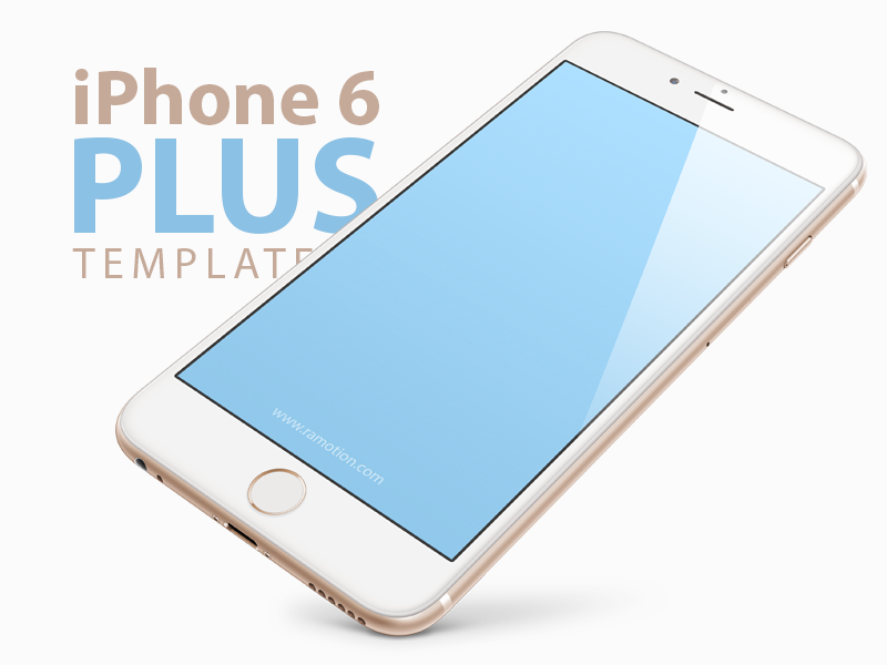 WHITE IPHONE 6 MOCKUP FREE