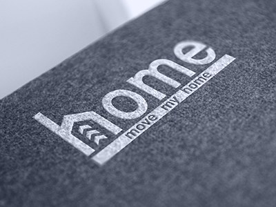 Home retail service logo identity design ramotion