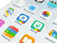 Bitstrips & Bitmoji App Icons