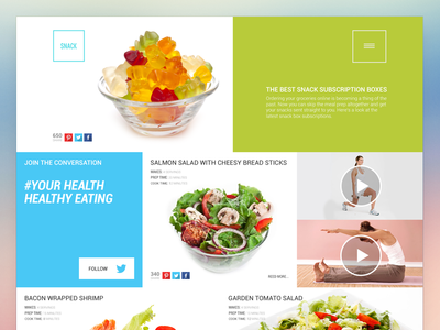 Web Design Agency webdesign landing page startup html css responsive design web site app healthy food delivery service platform subscription sass