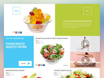 Web Design Agency webdesign landing page startup html css responsive design web site app healthy food delivery service platform subscription sass