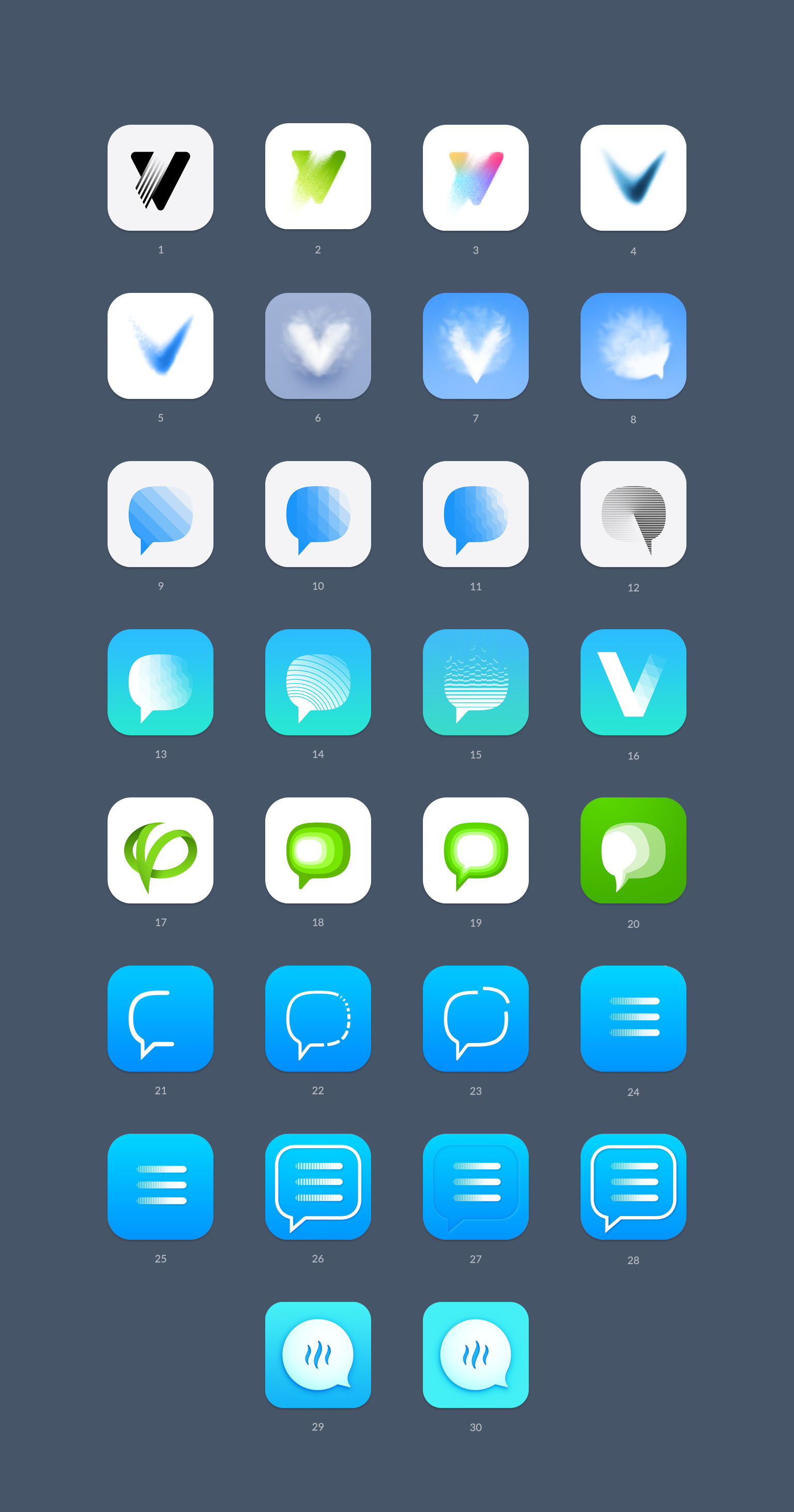 Dribbble social app ui design jpg by ramotion - Process Flat News App Icon Design Ramotion